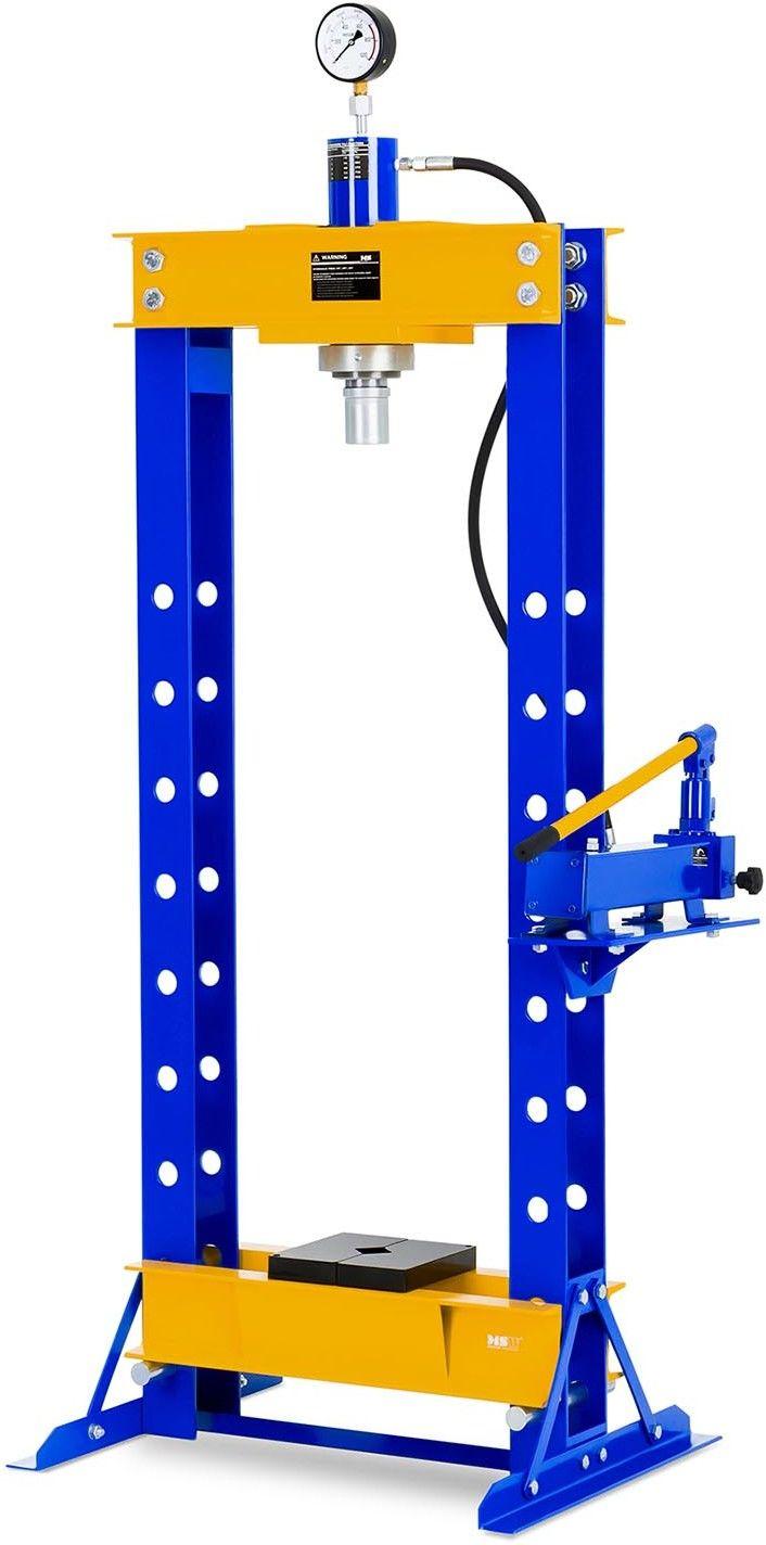Prasa hydrauliczna - 30 t - 666 bar - MSW - MSW-WP-30T - 3 lata gwarancji/wysyłka w 24h