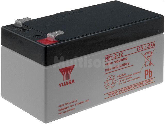 Akumulator kwasowo-ołowiowy YUASA 12V 1,2Ah żywotność 3-5 lat