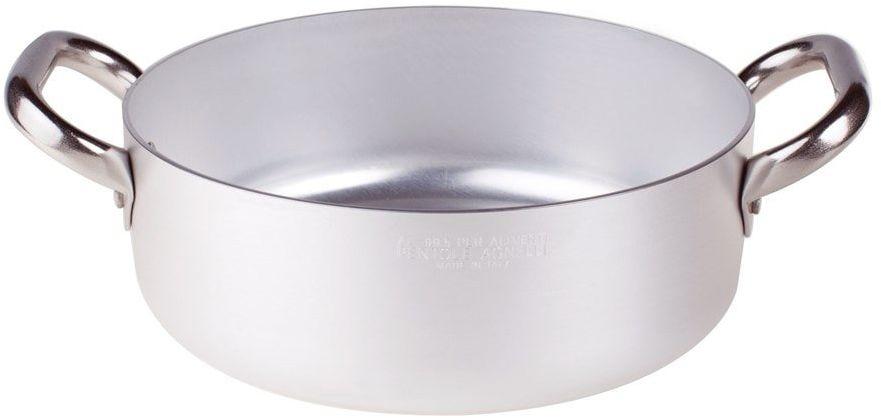Pentole Agnelli rondel z 2 uchwytami, aluminium, średnica 20 cm