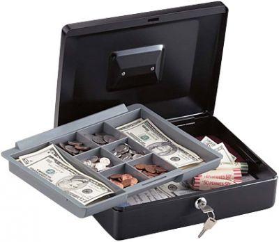 Kasetka na banknoty CB-12 ML na kluczyk