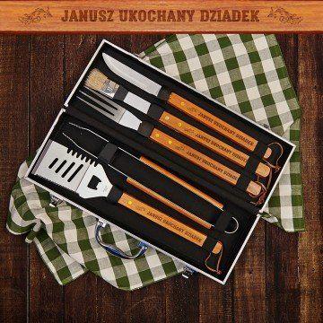 Ukochany dziadek - Zestaw do grilla