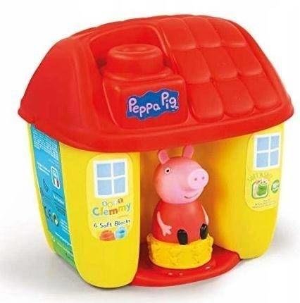 Clemmy Wiaderko Peppa Pig z figurką - Clementoni