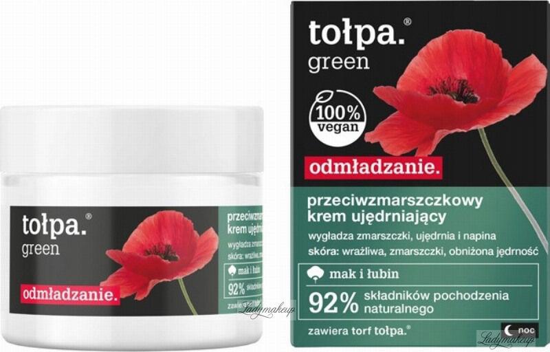 Tołpa - Green - Przeciwzmarszczkowy krem ujędrniający - Noc - 50 ml