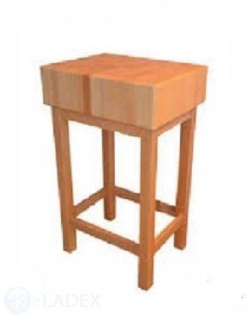Kloc masarski drewniany 40x40x10 Jan-pol