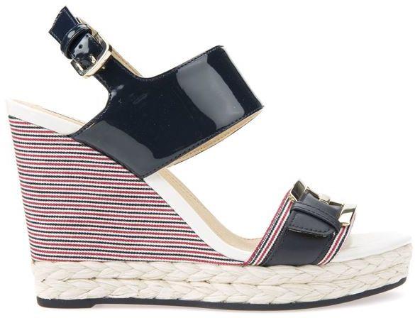 Damskie sandały DONNA JANIRA NAVY D82P6E00254C4002