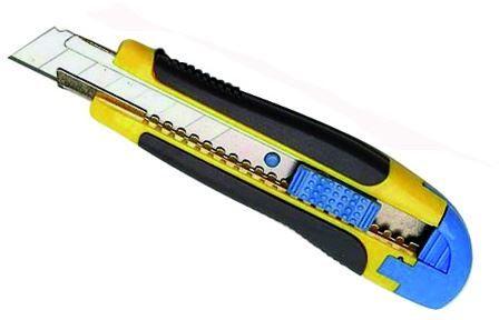 Nóż do tapet 18mm gumowany DIAMANTO