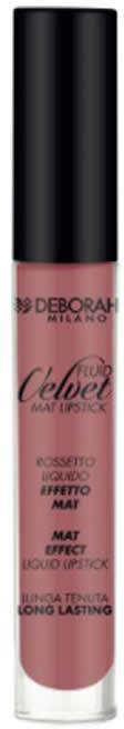 Fluid Velvet Lipstick DEBORAH MILANO 02