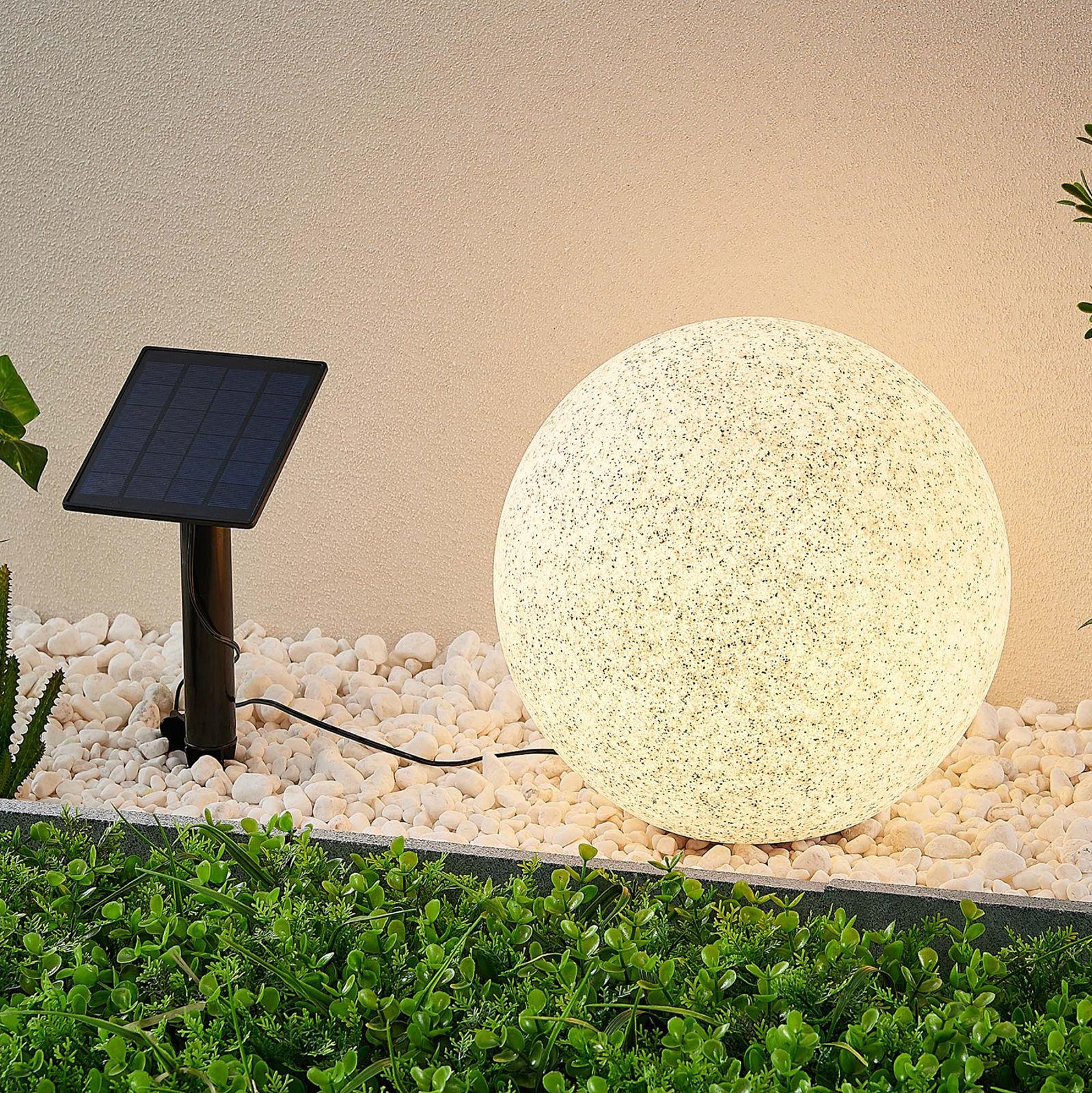 Lindby Hamela solarna lampa dekoracyjna RGB, 30 cm