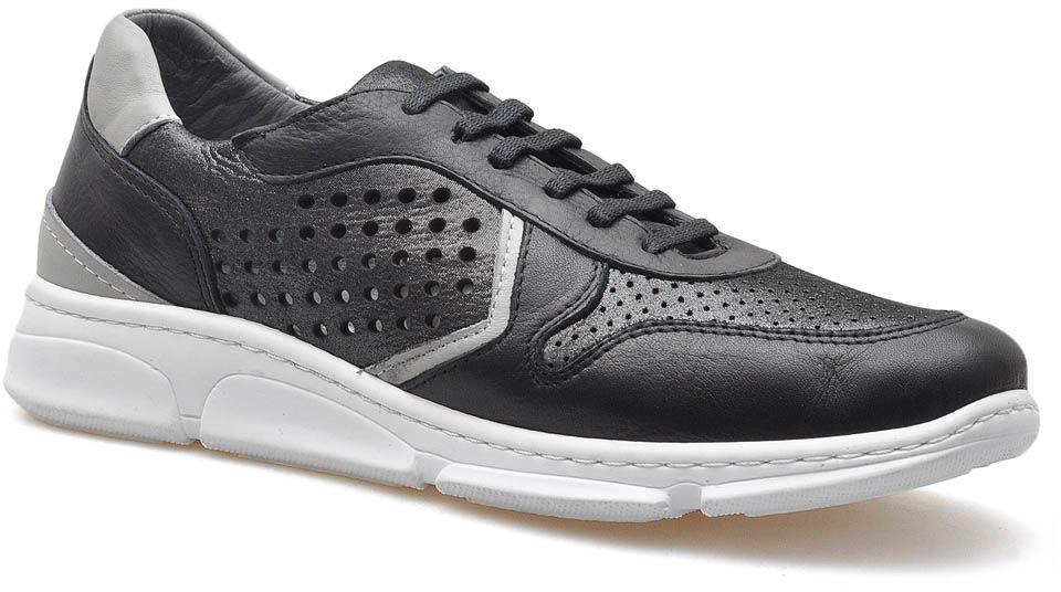 Sneakersy Venezia 2097 Czarne/Stalowe