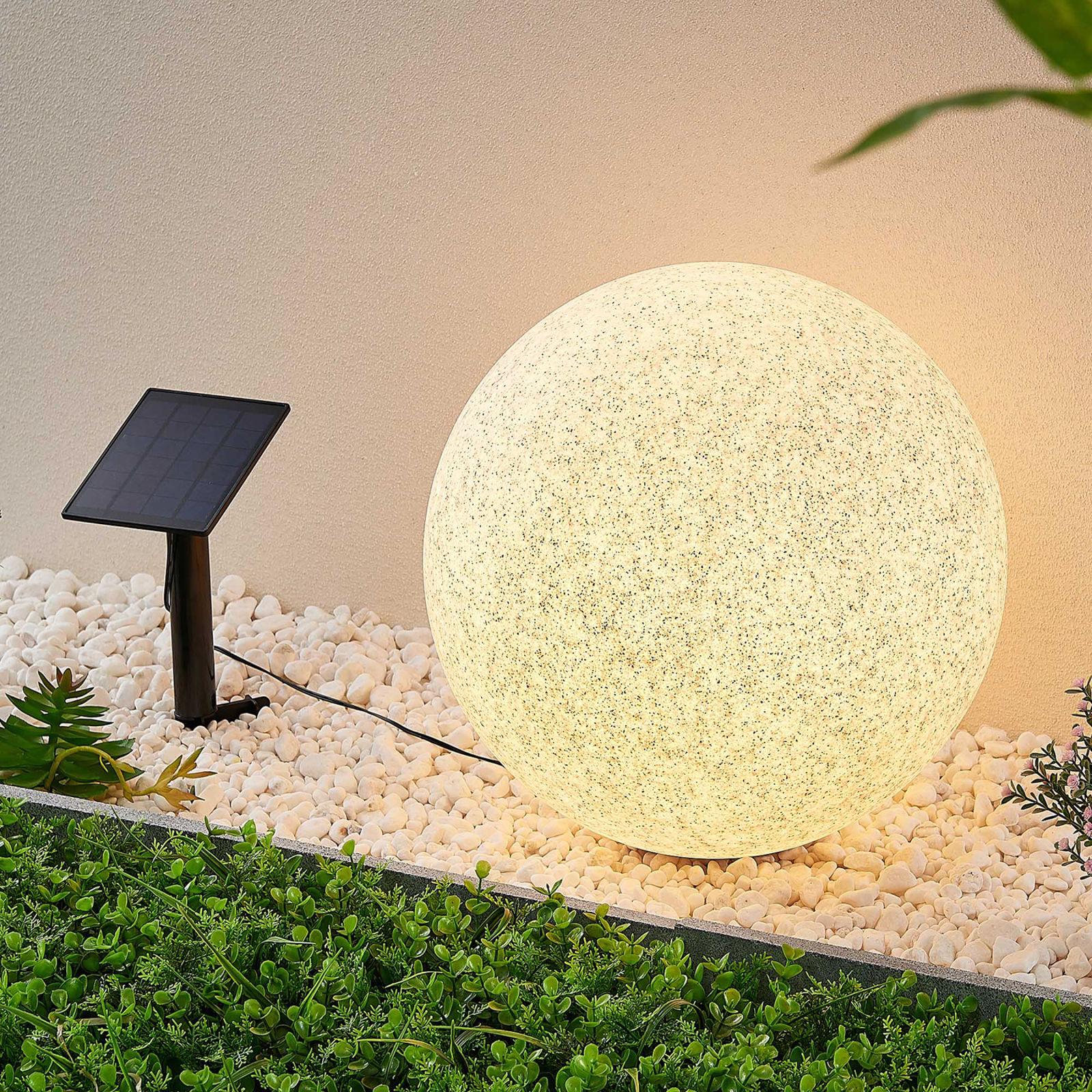 Lindby Hamela solarna lampa dekoracyjna RGB, 40 cm