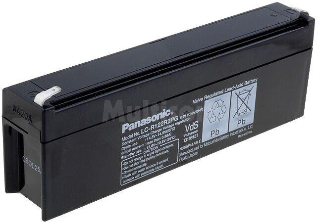 Akumulator kwasowo-ołowiowy PANASONIC 12V 2,2Ah żywotność 6-9 lat