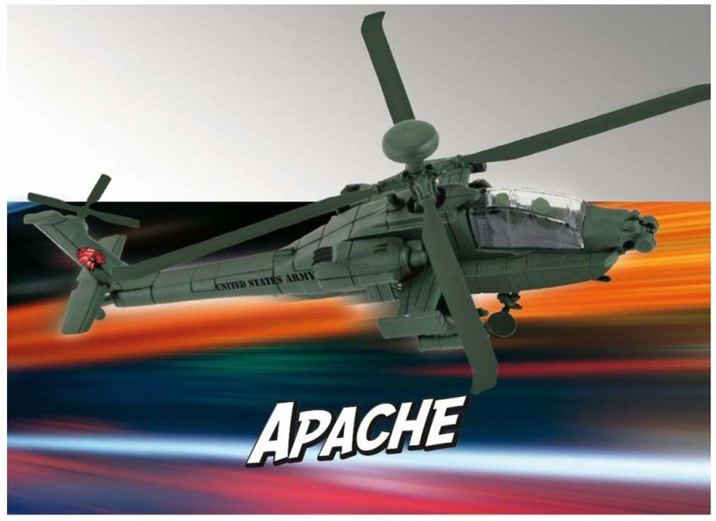 Build & Play 06453 Ah-64 Apache, REV-06453