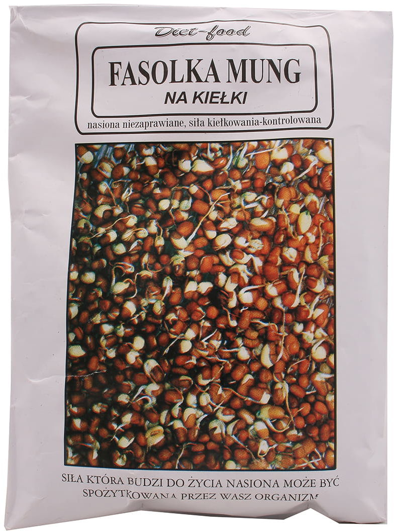 Fasolka Mung na kiełki - Diet Food - 160g