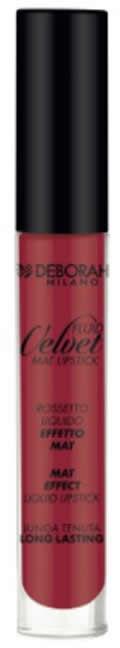 Fluid Velvet Lipstick DEBORAH MILANO 06