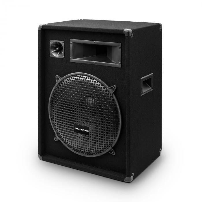 """Auna Pro PW-1522 MKII, para pasywnych kolumn nagłośnieniowych, 15"""", maks. 400W RMS/ 800W"""