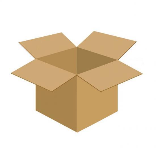 Karton klapowy tekt 3 - 420 x 290 x 450 450 g/m2 fala C
