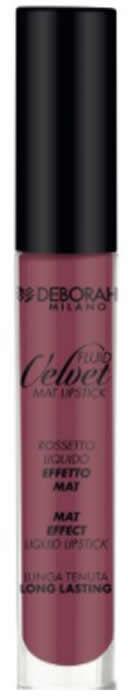 Fluid Velvet Lipstick DEBORAH MILANO 08