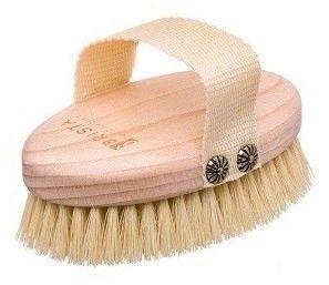 BRISTA Szczotka do mycia i masażu ciała na sucho - włosie z kaktusa agawy
