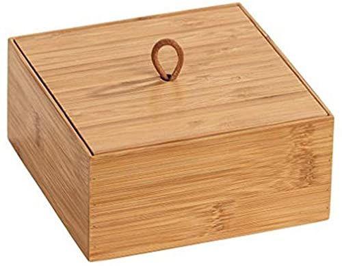 WENKO Bambusowe pudełko Terra M z pokrywką