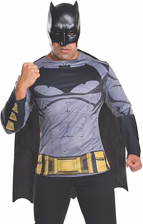 Batman V Superman  Koszulka Batman dla dorosłych (Rubie ''s Spain 810907)