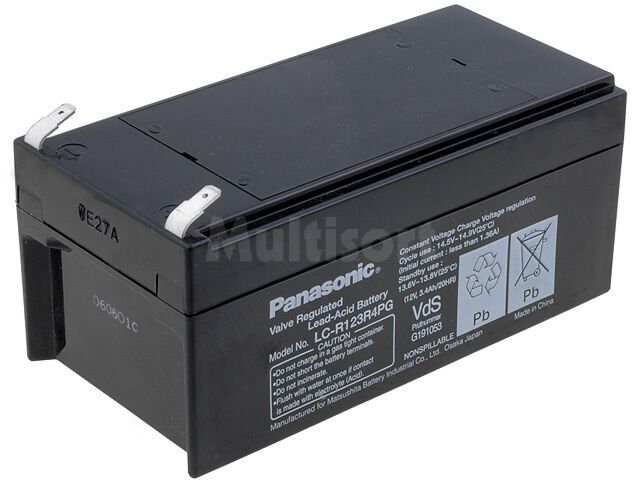 Akumulator kwasowo-ołowiowy PANASONIC 12V 3,4Ah żywotność 6-9 lat