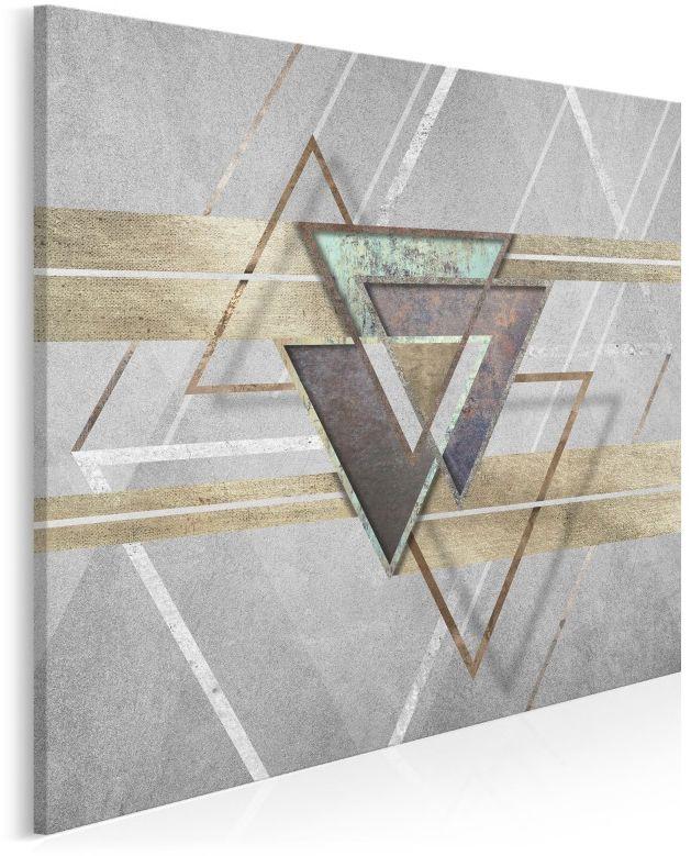 Oniryczny spektakl - nowoczesny obraz na płótnie - 80x80 cm