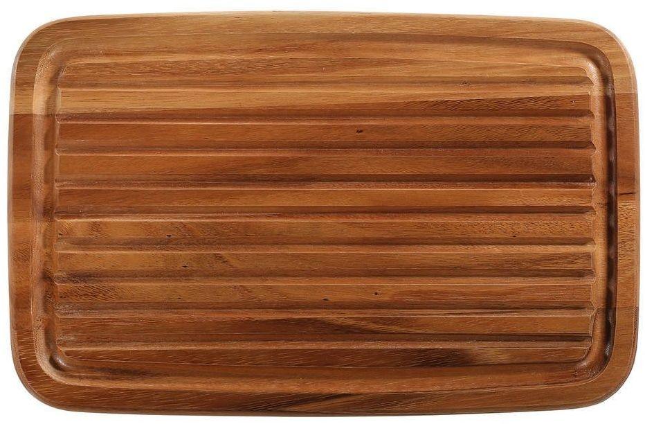 Zassenhaus - deska do krojenia pieczywa - akacja - 42 27,5 2 cm