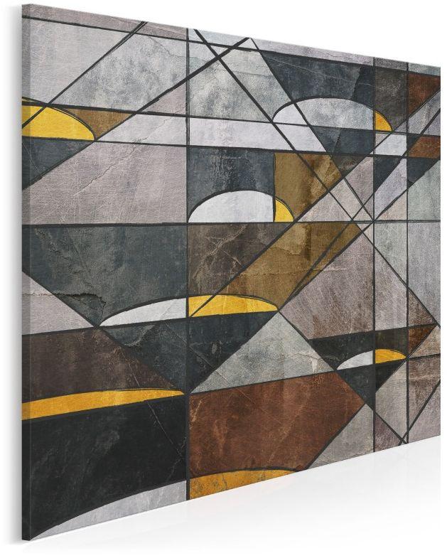 Dwoista natura - nowoczesny obraz na płótnie - 80x80cm