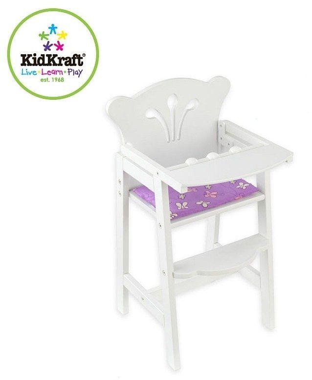 Krzesełko dla lalki, KidKraft - meble dla lalek