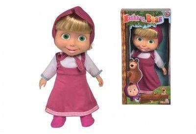 Masza i Niedźwiedź - Miękka lalka Masza 40cm 9301067