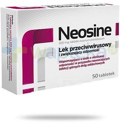 Neosine 500mg 50 tabletek