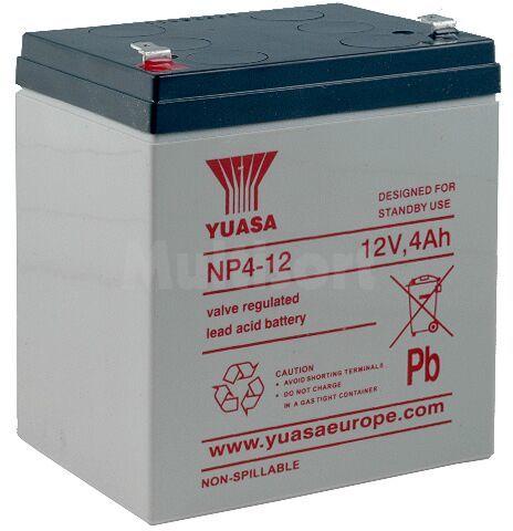 Akumulator kwasowo-ołowiowy YUASA 12V 4Ah żywotność 3-5 lat