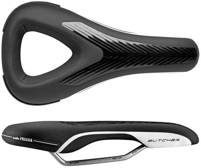 SELLE ITALIA siodełko rowerowe butcher (id match - L2) 300g czarny SIT-030A801AEC001,8030282444904