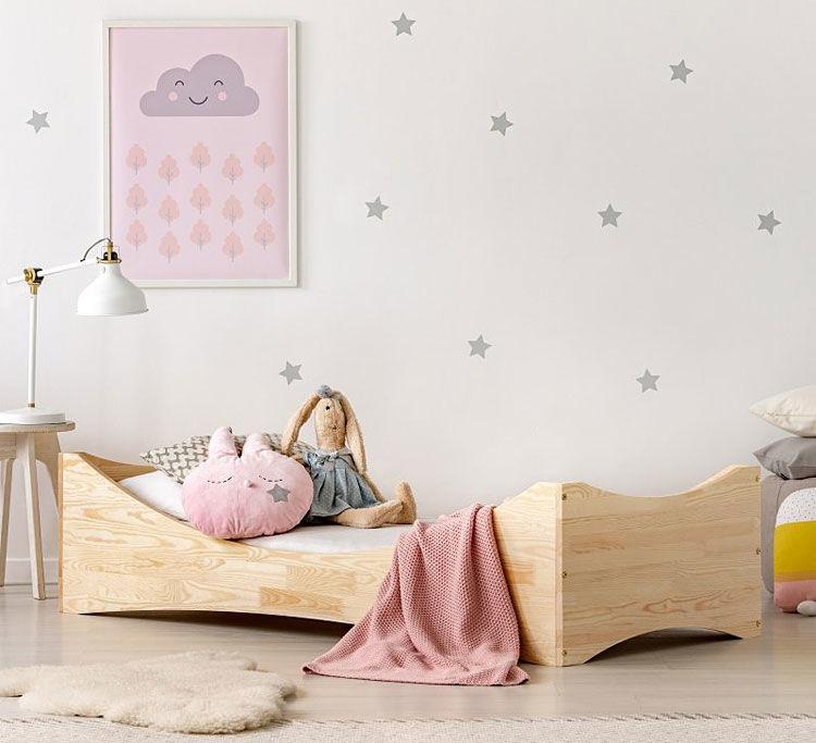 Łóżko drewniane Lexin 4X - 21 rozmiarów