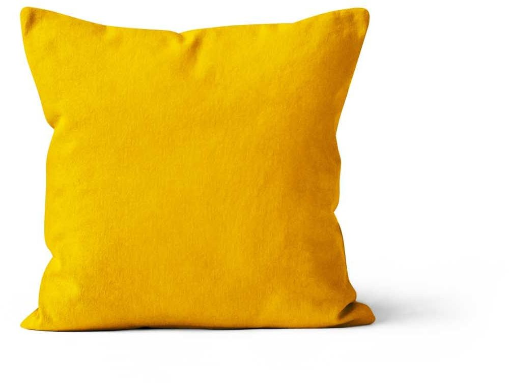 Soleil d''Ocre Alix poduszka, poliester, żółta, 40 x 40 cm