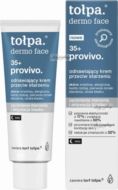 Tołpa - Dermo Face 35+ Provivo - Odnawiający krem przeciw starzeniu - Noc - 40 ml