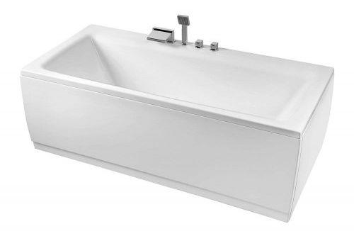 Wanna 180x80x47cm biała akrylowa do zabudowy made in UE
