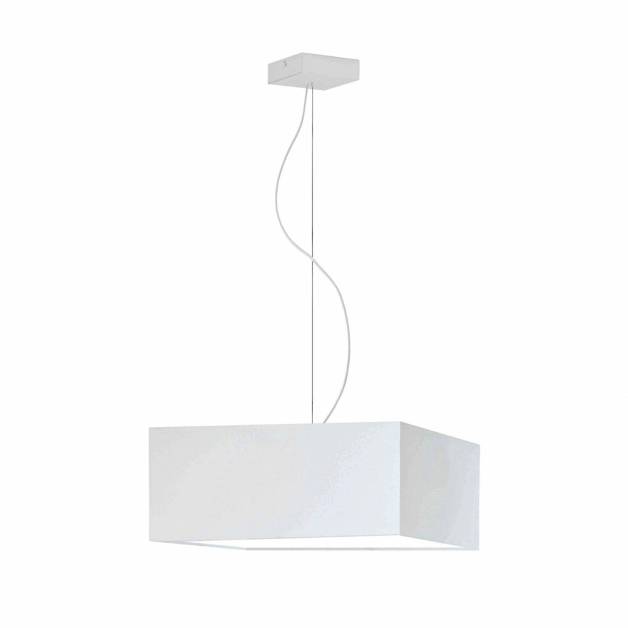 Kwadratowa lampa wisząca EX226-Sangris - 18 kolorów do wyboru