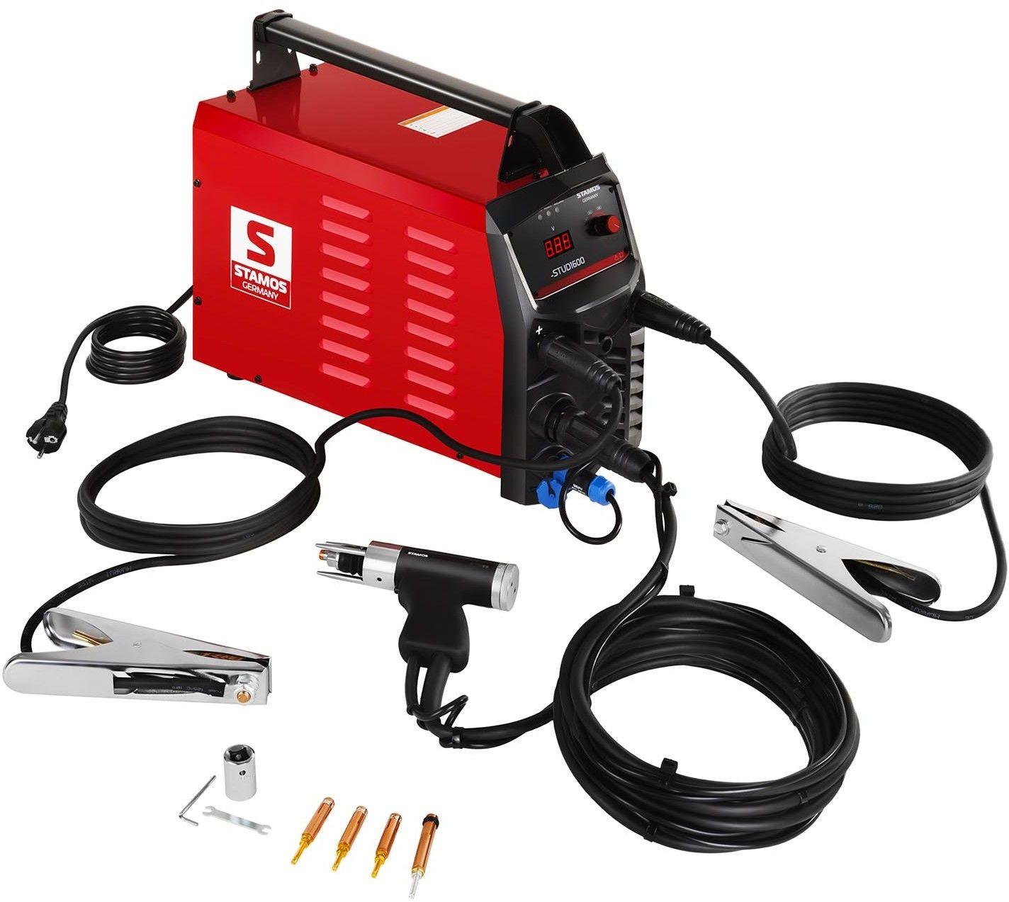 Zgrzewarka kondensatorowa - 1600 J - Stamos Germany - S-STUD1600 - 3 lata gwarancji/wysyłka w 24h