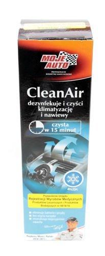 preparat do czyszczenia klimatyzacji Moje Auto