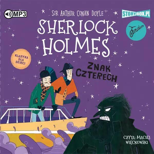 CD MP3 Znak czterech. Klasyka dla dzieci. Sherlock Holmes. Tom 2 - Arthur Doyle Conan