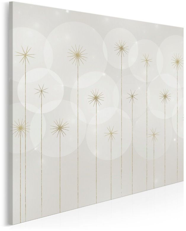 Magiczna aura - nowoczesny obraz na płótnie - 80x80 cm