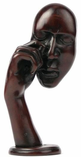 Statuetka Maska 20