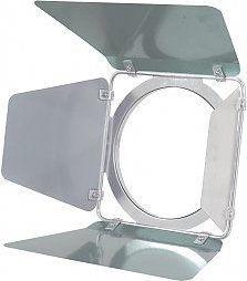 Skrzydełka kadrujące do reflektora Eurolite Barn doors PAR-46, silver
