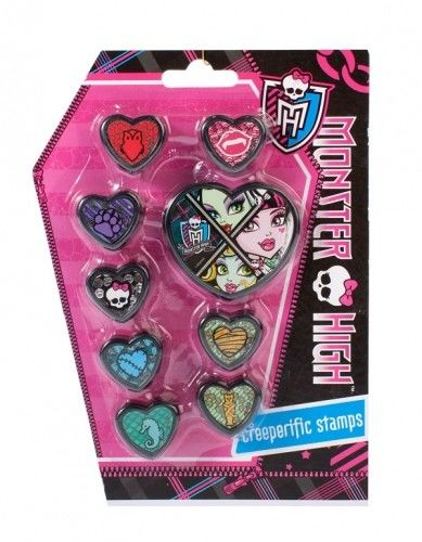 Pieczątki Monster High MEGA CREATIVE 298285