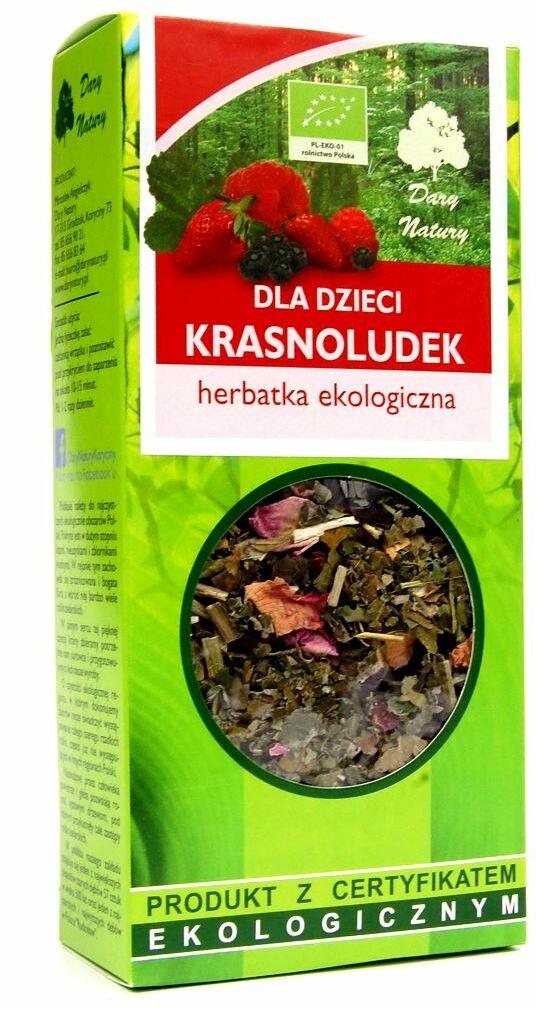Herbatka dla dzieci krasnoludek bio 50 g - dary natury