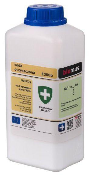 Soda Oczyszczona Wodorowęglan Sodu 1kg E500b Biomus