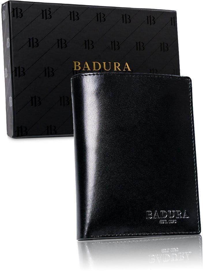 BADURA portfel meski skórzany ochrona RFID 99115