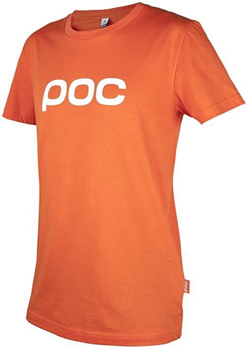 POC Damski T-shirt Corp WO, L, Corp Orange