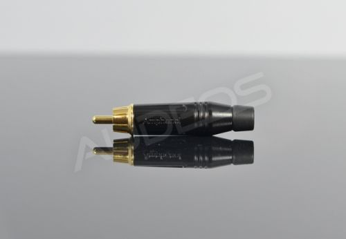 Wtyk RCA cinch Amphenol ACPR-BLK